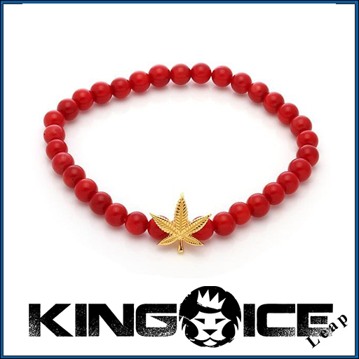 【King Ice】LA発☆Designed by Snoop Dogg ブレスレット▲