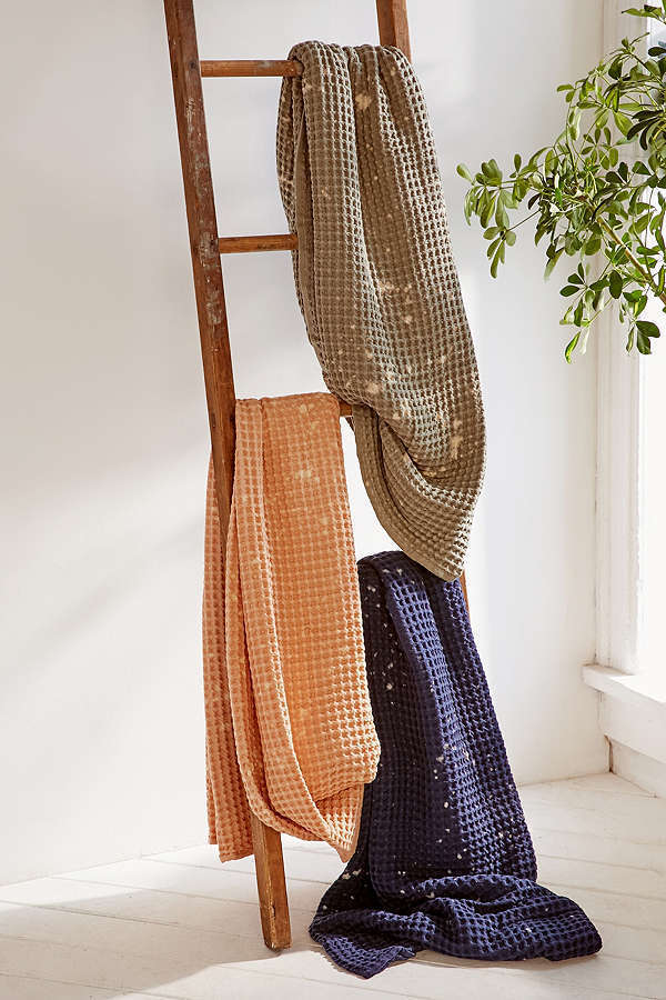 Sale☆Urban Outfitters☆ブランケット Distressed Waffle Throw