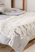 Sale☆Urban Outfitters☆ブランケット Seed Stitch Knit Throw