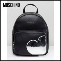 【Moschino(モスキーノ)】 Backpack with Heart