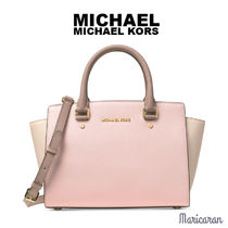 即発送【セール!】Michael Kors* Selma Medium Satchel