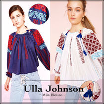 【大人気!】ULLA JOHNSON MILA BLOUSE