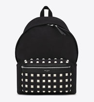 【関税負担】 SAINT LAURENT STUD BACKPACK
