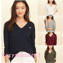 【Hollister】V-Neck Icon Sweater☆定番Vネックセーター
