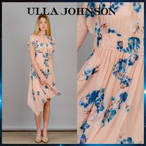 ULLA JOHNSON ウラジョンソン Luisa Nude Midi Dress