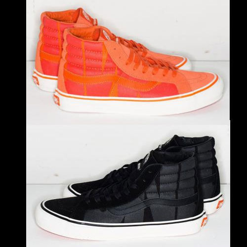西海岸バンズ undefeated×vans SK8-HI OG LX collection 送料込
