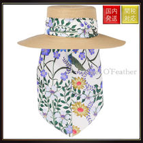 【グッチ】Papier Hat With Flora Ribbon ハット