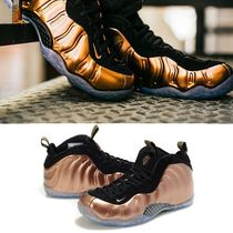 NIKE★NIKE AIR FOAMPOSITE ONE BLACK / METALLIC COPPER