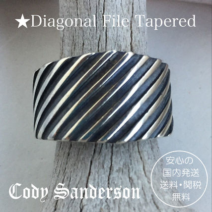 Cody Sanderson★Diagonal File Tapered リング★クーポン付