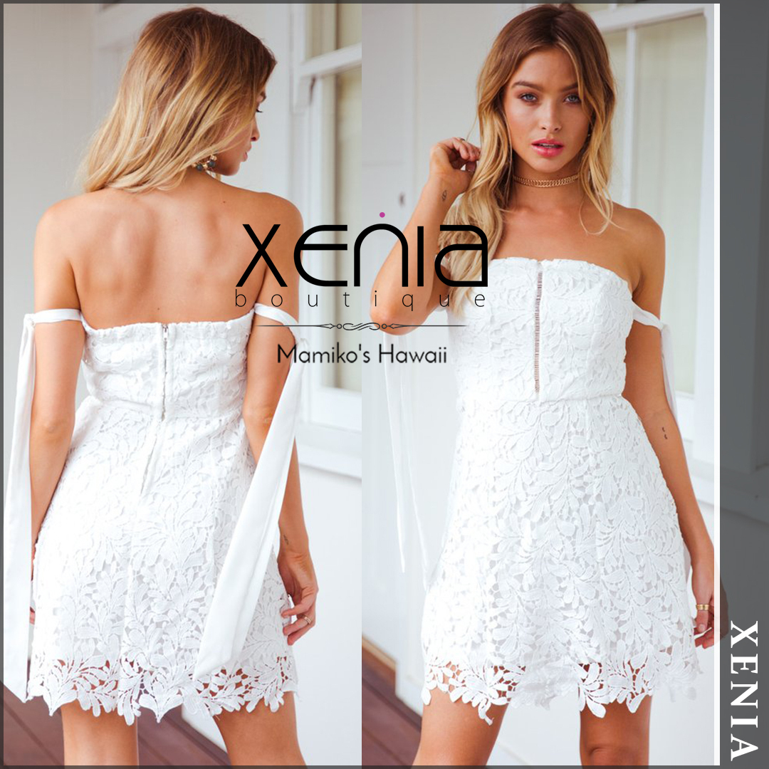 【国内発送・関税込】 XENIA boutique SERENA LACE DRESS