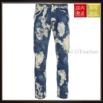 【グッチ】Bleached Denim Punk Pants デニム