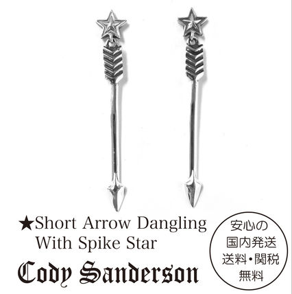 Cody Sanderson★Short Arrow &Spike Star ピアス★クーポン付