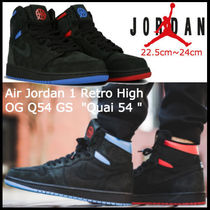 "未入荷☆ナイキ Air Jordan 1 Retro High OG Q54 GS  ""Quai 54 """