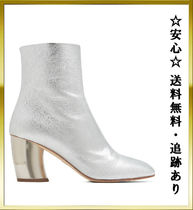 "[保証]追跡あり""Proenza Schouler""Curved-heel leather L ブーツ"