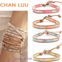 ★セール/即発★Chan Luu Single Wrap Bracelet on Beige...★
