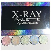 GLITTER INJECTIONS(グリッターインジェクションズ) フェイスパウダー GLITTER INJECTIONS CHUNKY HIGHLIGHTER SET PLUS XRAY PALTTE