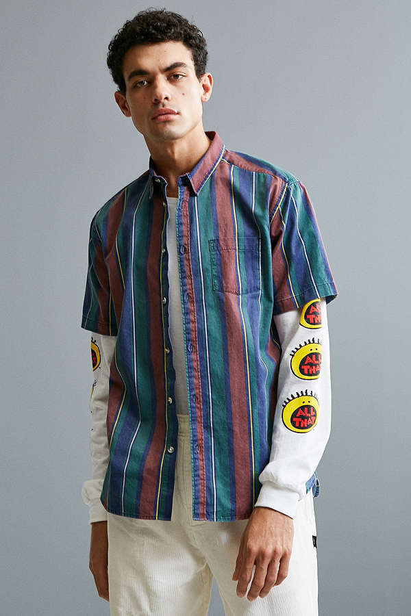 URBAN OUTFITTERS 90's チェック柄 ボタンダウン シャツ