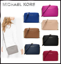 MICHAEL KORS★ JET SET LARGE CROSSBODY  国内発送!関税込み
