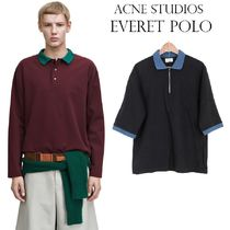 Acne Everet Bi-Colour Polo Shirt バイカラーポロシャツ2色