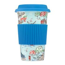 [Cath Kidston] ★最新作★ LONDON TOWN CERAMIC TRAVEL MUG