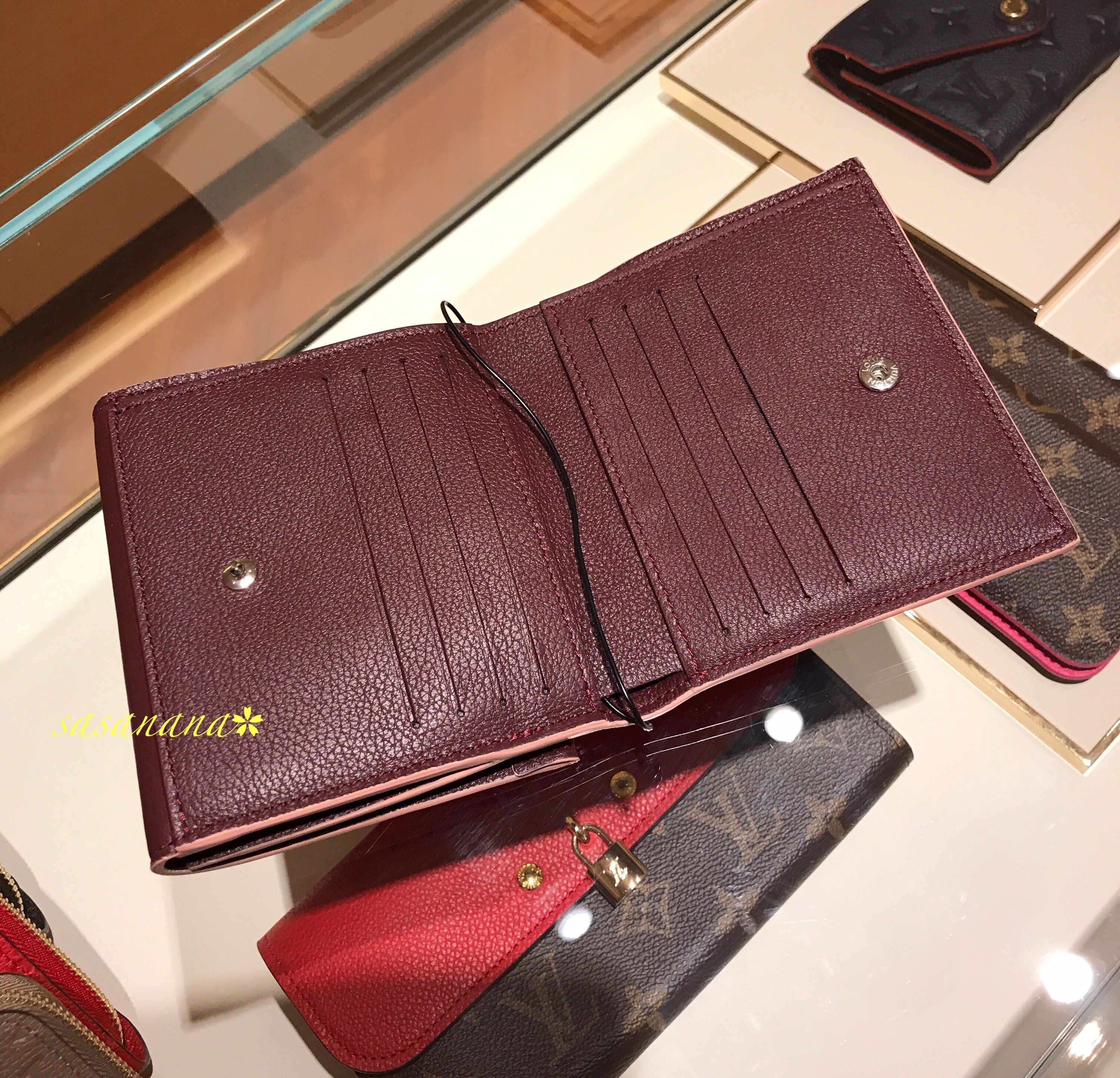 LOCKME II COMPACT WALLET ヴィトン ミニ財布 国内発送 2017AW
