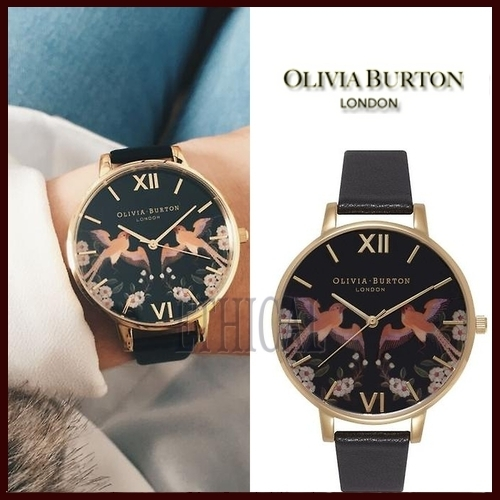 Olivia Burton 【送料税関込】ORIENTAL FRIENDSHIP BIRDS 38mm