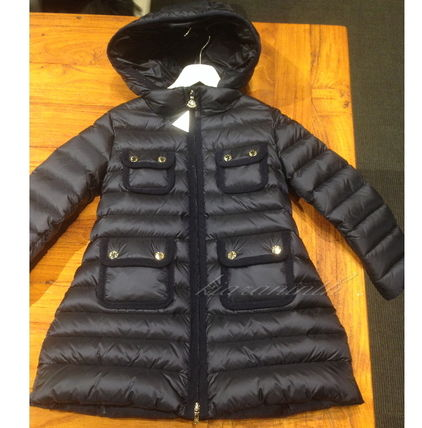 "MONCLER アウター 新作♪ MONCLER Jr ""NUAGES""Wポケットダウン12/14A【関税込】"