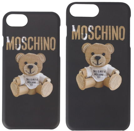 17aw☆Moschino iphone6.6s.7/6.6s.7plus New Bearケース*関税込