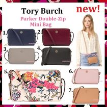 セール Tory Burch ミニ ショルダー Parker Double Zip Mini Bag
