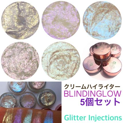 GLITTER INJECTIONS BLINDINGLOW ハイライター5個セット 送料込