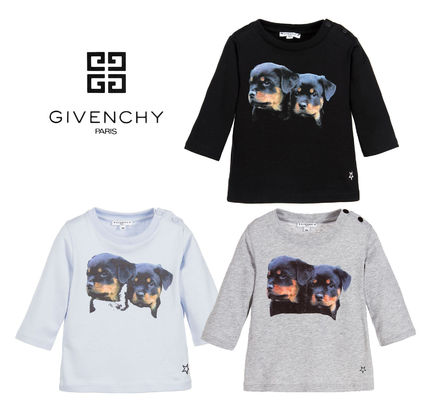 17AW GIVENCHY 6ヶ月〜3才 ドッグカットソー T シャツ 3色