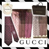 SALE!!【国内発送】ギフトにも♪GUCCI  メンズネクタイ 5色