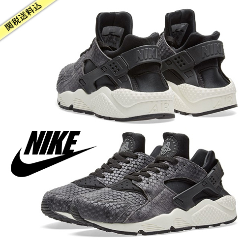 ★NIKE★ AIR HUARACHE RUN PREMIUM Black / 送料関税込