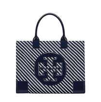 新作 TORY BURCH ELLA STRIPE MINI TOTE 38712【関税送料込】