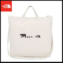 (ザノースフェイス) KIDS TOTE BAG IVORY NN2PI53Z