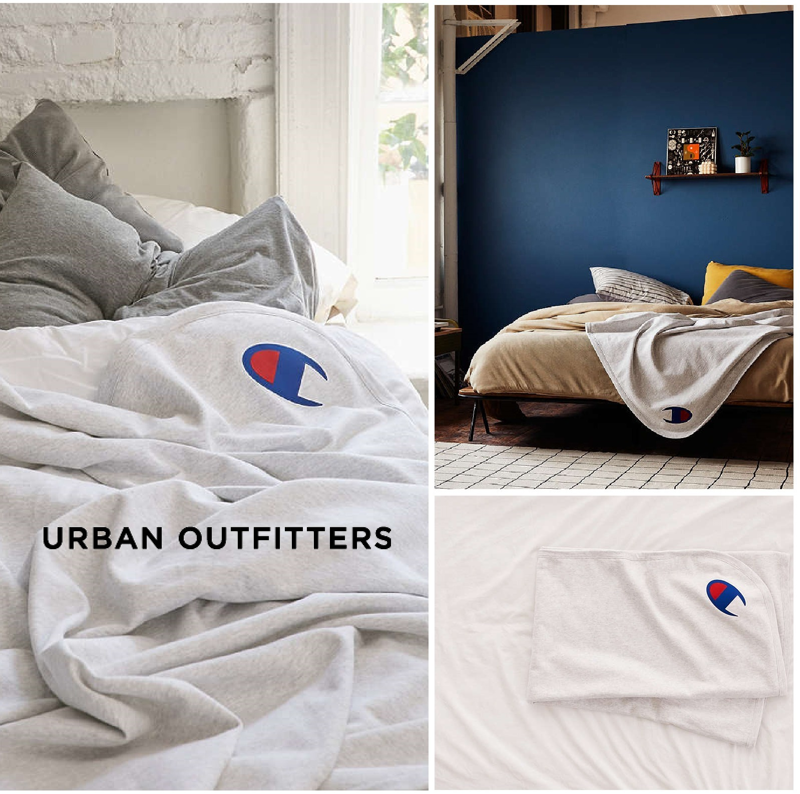 Urban Outfitters☆Champion Reverse Weave Throw Blanket