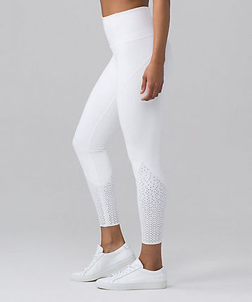 """SALE*Anew Tight 25""""*レーサーカットのアートワーク*white"""
