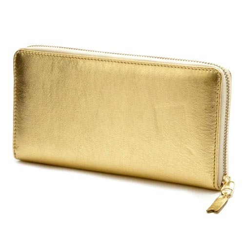 COMME DES GARCONS ラウンドファスナー長財布 SA0110G GOLD