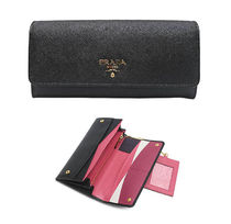 【関税負担】 PRADA SAFFIANO FLAP WALLET MULTICORLORED
