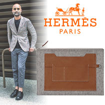 HERMES(エルメス) Toodoo 37 クラッチバッグ gris/fauve