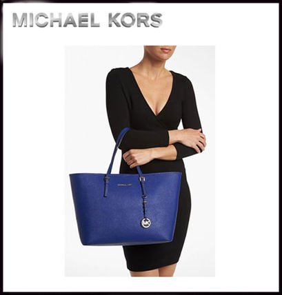 Michael Kors マザーズバッグ MICHAEL KORS★JET SET MEDIUM TRAVEL TOP ZIP TOTE 国内発送!(15)