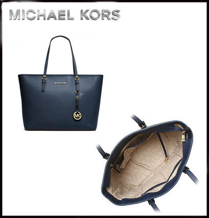 Michael Kors マザーズバッグ MICHAEL KORS★JET SET MEDIUM TRAVEL TOP ZIP TOTE 国内発送!(6)