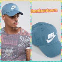 【送関込】Nike Logo Cap In Washed Blue