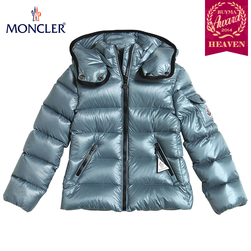 TOPセラー賞受賞!17AW┃MONCLER★8-10歳_BERRE_ライトブルー