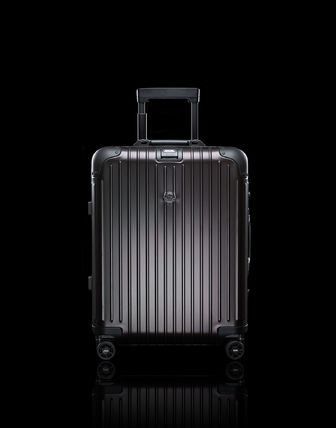 MONCLER スーツケース RIMOWA×MONCLER★TOPAS STEALTHビジネス・1st機内56㌢45㍑4輪