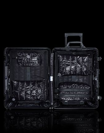 MONCLER スーツケース RIMOWA×MONCLER★TOPAS STEALTHビジネス・1st機内56㌢45㍑4輪(3)