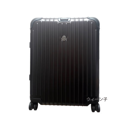 MONCLER スーツケース RIMOWA×MONCLER★TOPAS STEALTHビジネス・1st機内56㌢45㍑4輪(4)