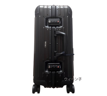 MONCLER スーツケース RIMOWA×MONCLER★TOPAS STEALTHビジネス・1st機内56㌢45㍑4輪(5)