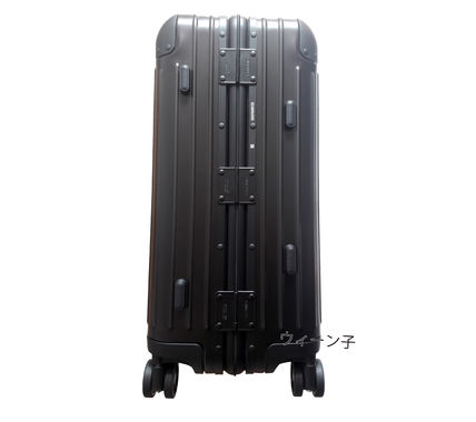 MONCLER スーツケース RIMOWA×MONCLER★TOPAS STEALTHビジネス・1st機内56㌢45㍑4輪(7)