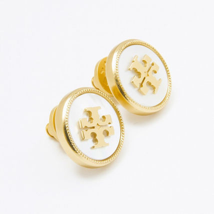 Tory Burch イヤリング・ピアス トリーバーチ ピアス 33456 136 色MOTHER OF PEARL VINTAGE GOLD